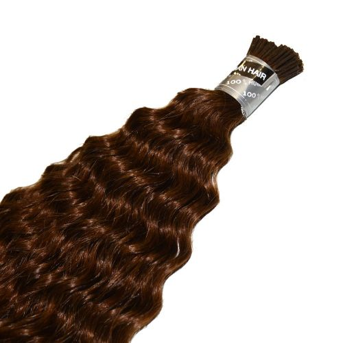 50% Italian Mink Pre Glue I Shape Water Wave