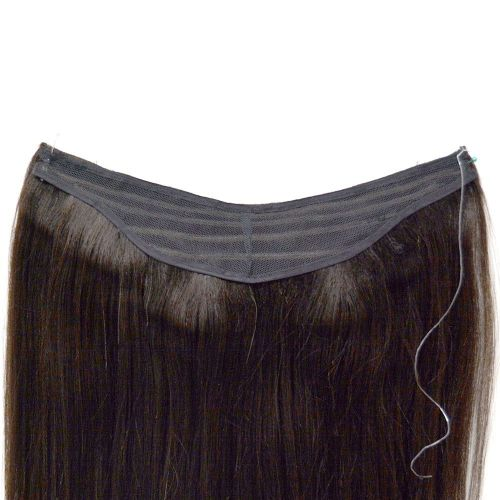 "12"" Magic Extensions in Natural Perm Straight - ITALIAN MINK® 100% Human Hair"