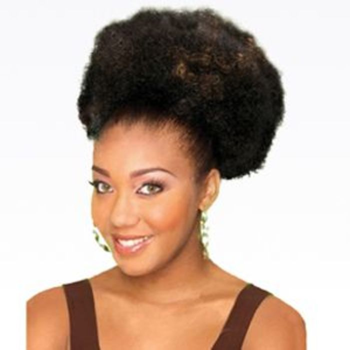 Natural hair extensions human hair wigs kinky twist weaving ponytail puffy small pmusecretfo Choice Image