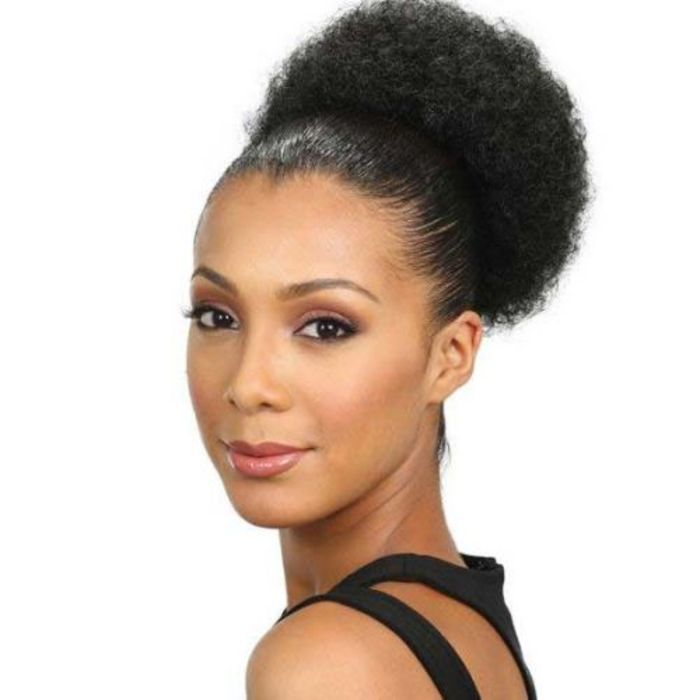 Natural hair extensions human hair wigs kinky twist weaving afro pom small synthetic ponytail pmusecretfo Image collections
