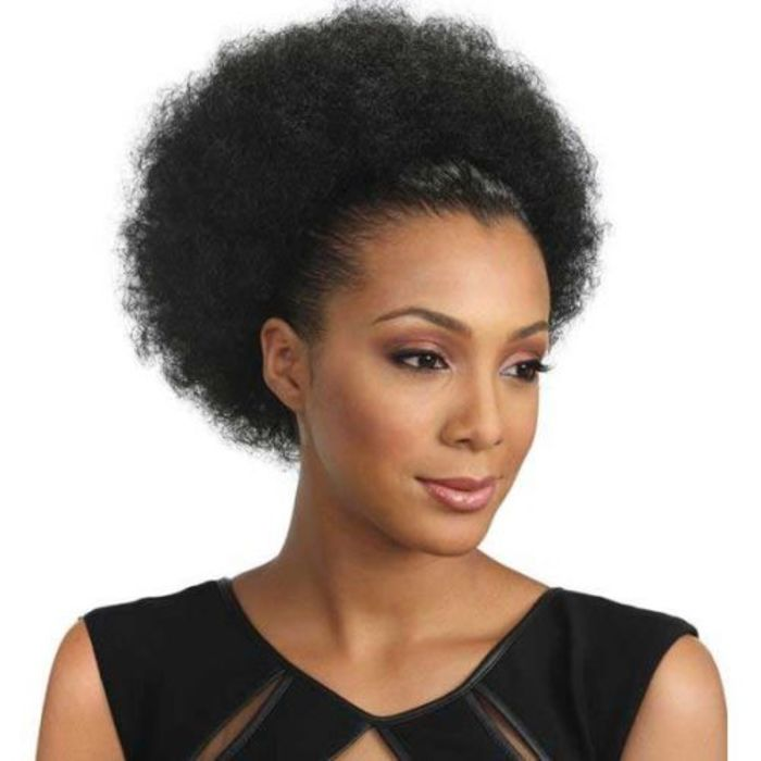 Natural hair extensions human hair wigs kinky twist weaving afro pom large synthetic ponytail pmusecretfo Choice Image