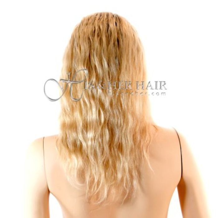 Hair extension system hook hair pull thru strip