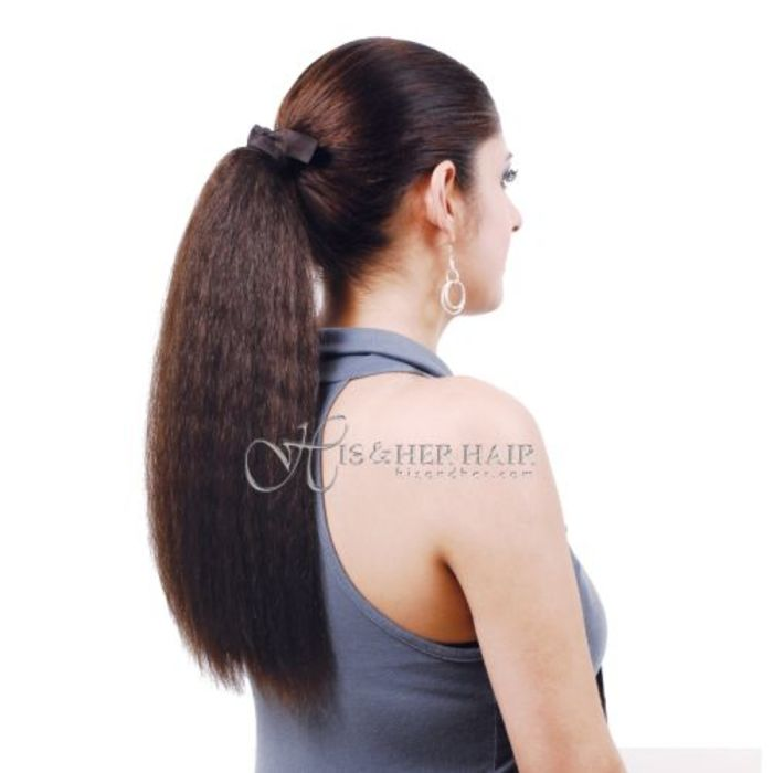 Natural hair extensions human hair wigs kinky twist weaving ponytail human hair kinky straight 14 pmusecretfo Image collections