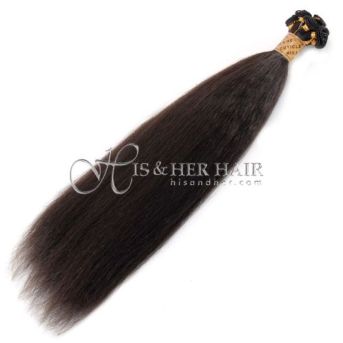 Natural hair extensions human hair wigs kinky twist weaving cuticle handtied weft kinky straight sale pmusecretfo Images