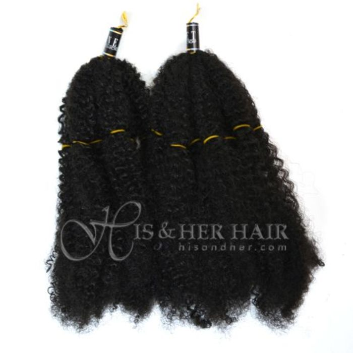 Natural hair extensions human hair wigs kinky twist weaving synthetic afro kinky bulk pmusecretfo Images