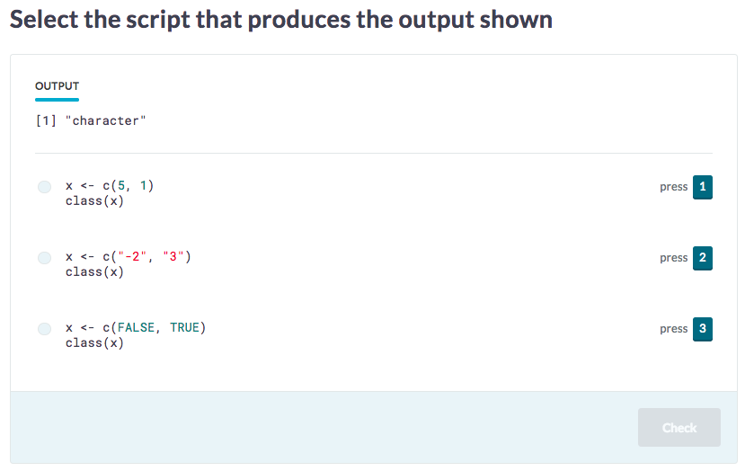 Match Code with Output