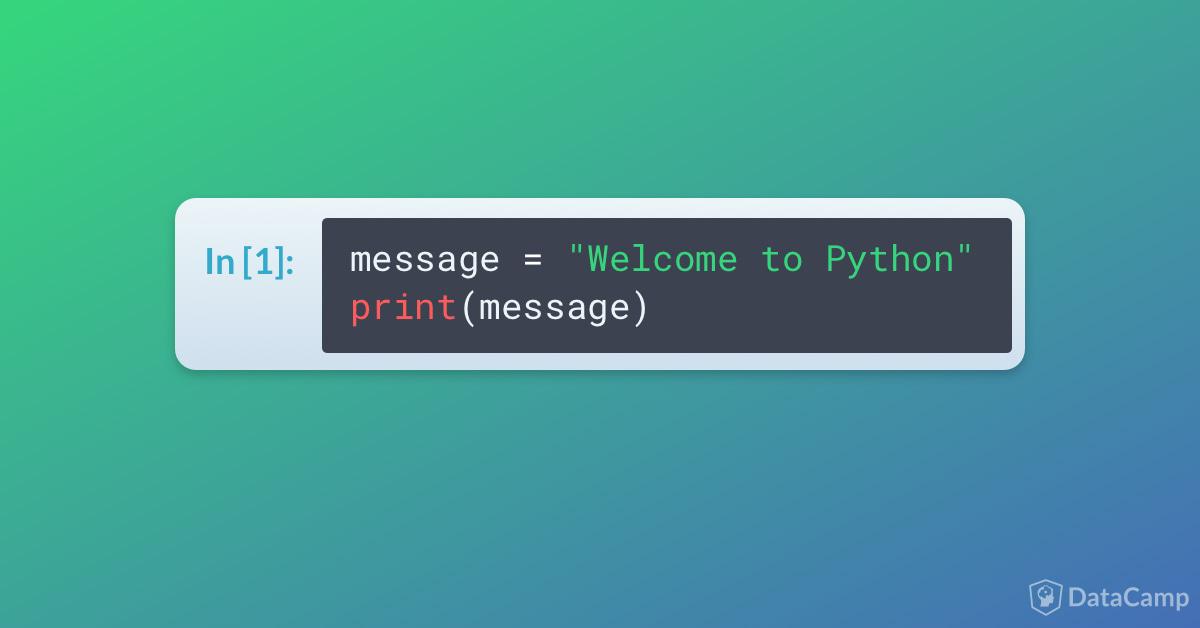 string python tutorial