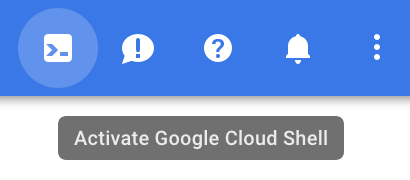 Google Cloud shell