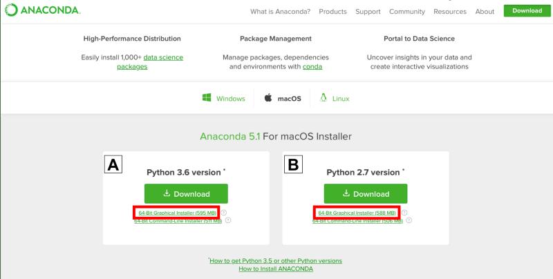 install conda python distribution