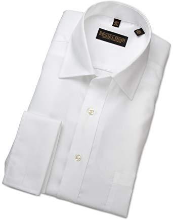 Donald trump french cuff shirt