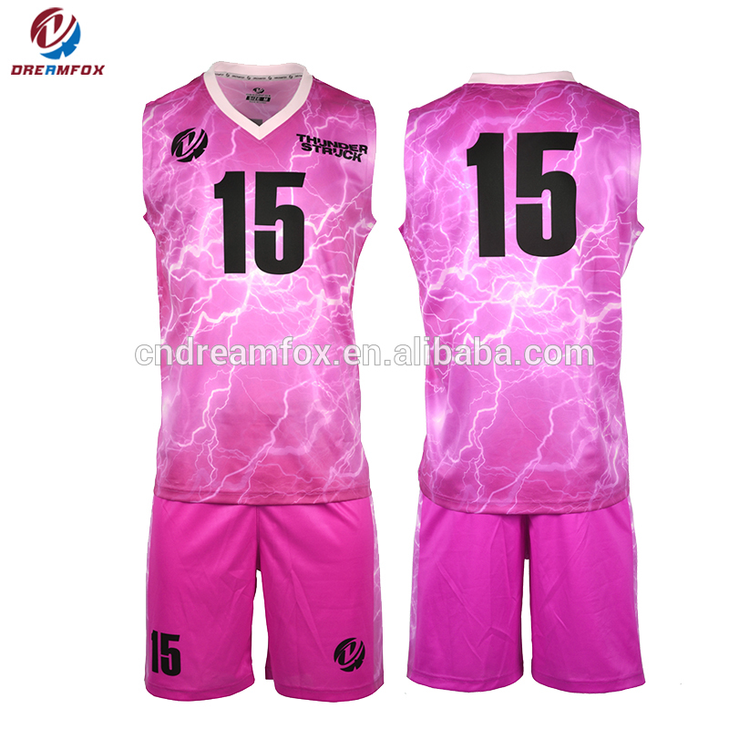 Pink uniforms basketball
