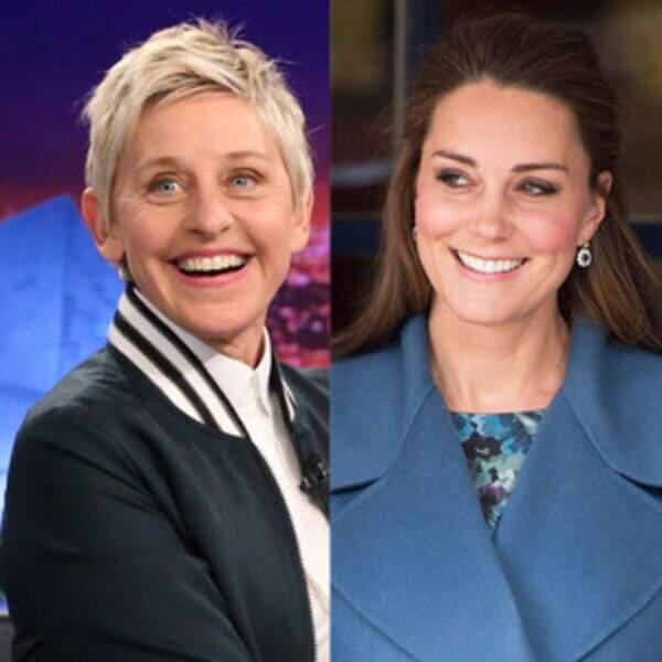 Ellen degeneres related to kate middleton