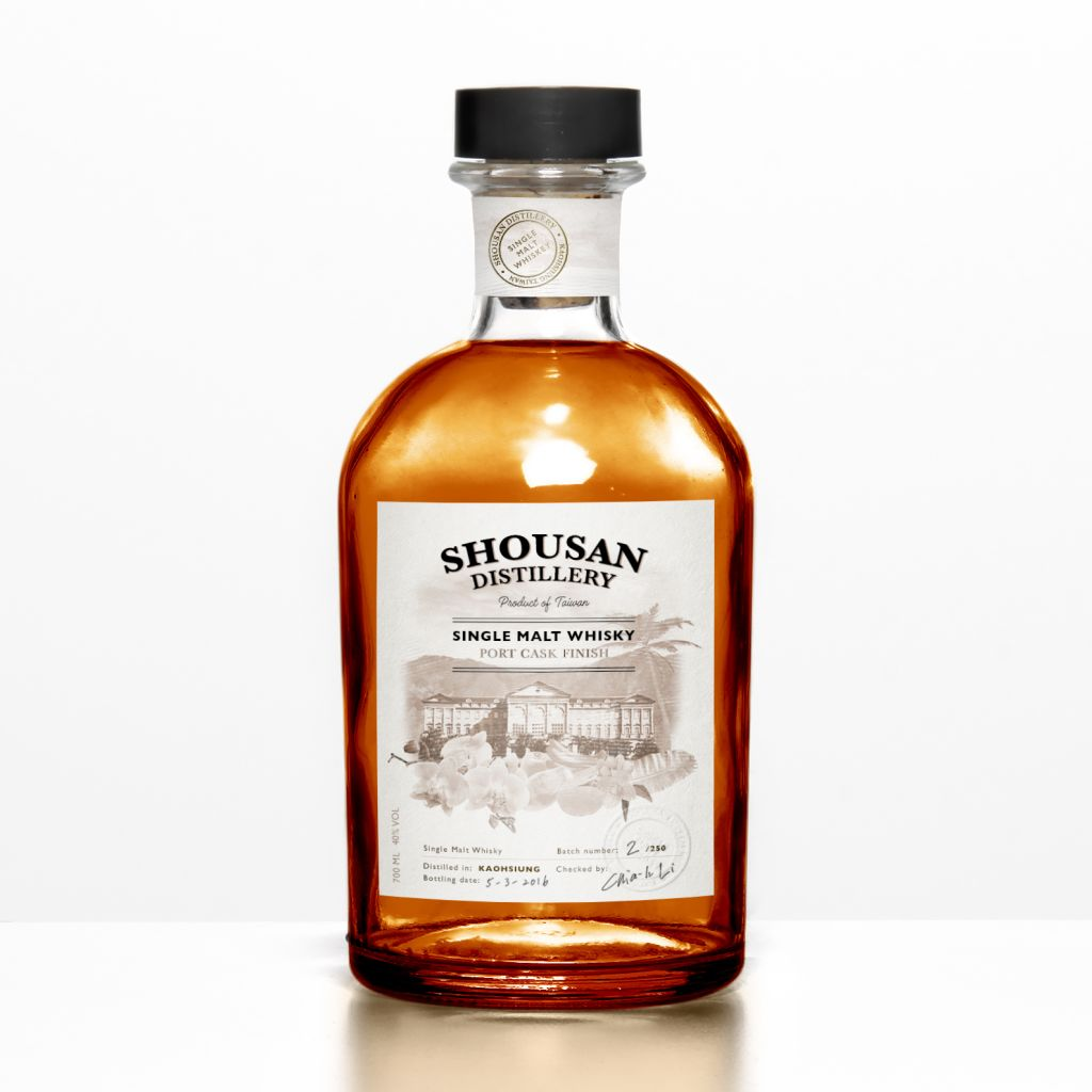 Shousan Whisky Bottle