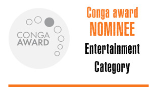 Drum Cafe are Conga Award Nominees in the Entertainment Category