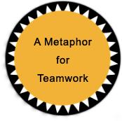 icon A metaphor for teamwork