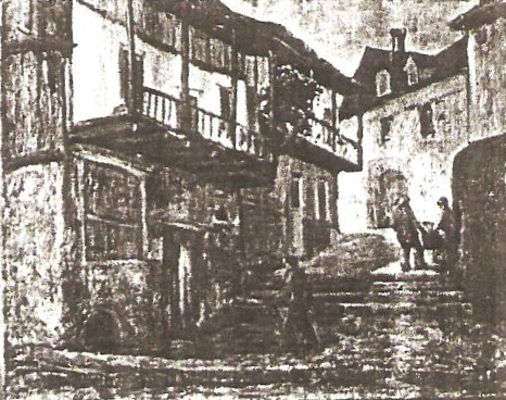 The Balcony at Uzerche