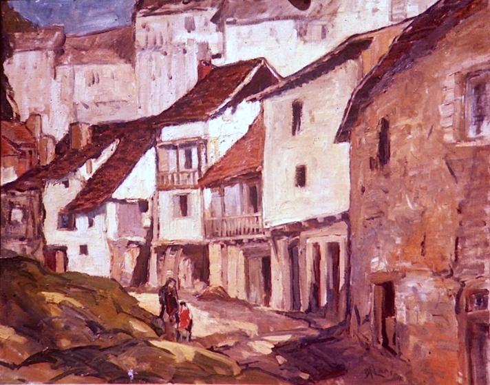 Old Street in Uzerche