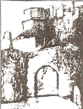 Porte du Figuier at Rocamodour