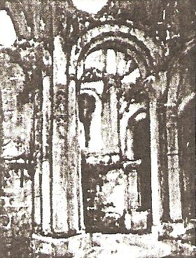 Interior of Ruined Abbey