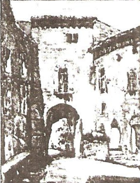 A Village Entrance at Cordes