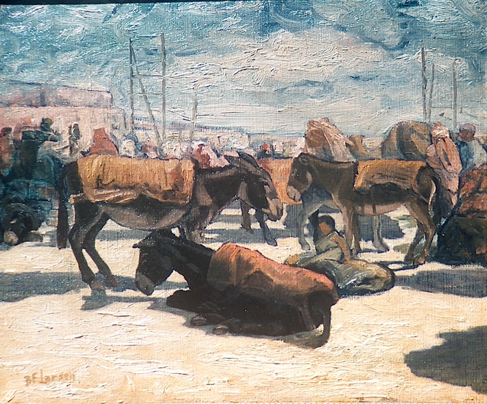 Donkeys at Rest