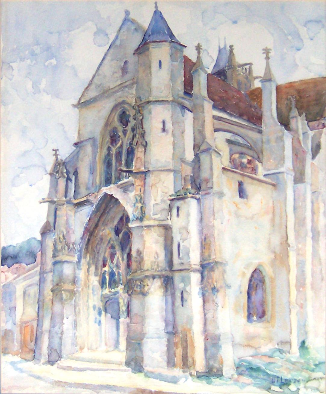Church at Moret