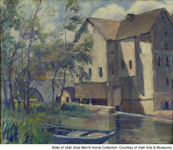 Old Mill at Moret