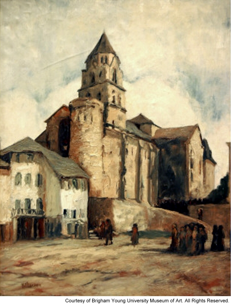 Church at Uzerche