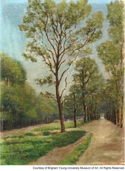 Bridal Path in the Garden of Versailles