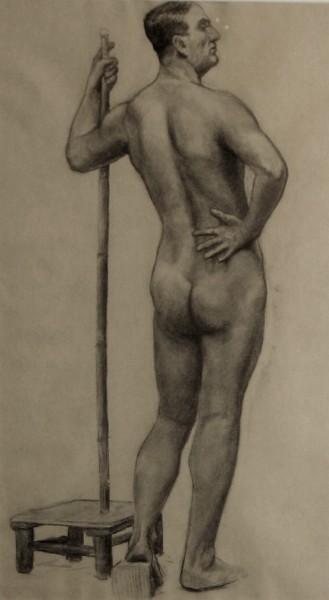 Standing Nude Male Figure