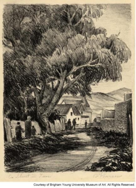 A Street in Taos