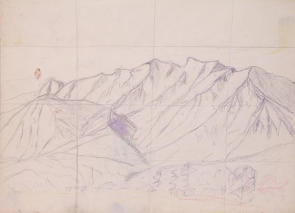 Sketch of Timpanogos