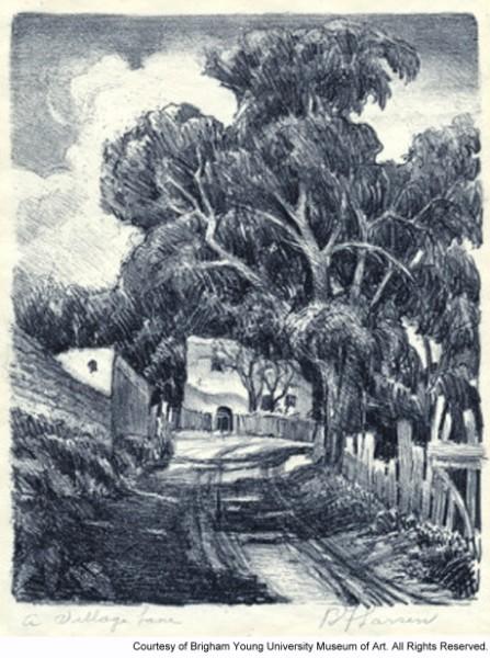 A Village Lane