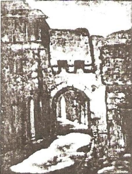 La Porte Basse at Rocomadour
