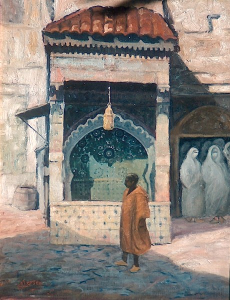 Fountain at Fez