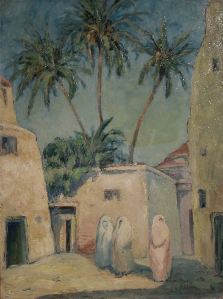 The Three Date Palms at Fez