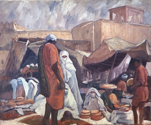 Bread Market at Marrakech