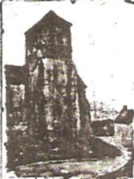 Church Tower at Ecuelles