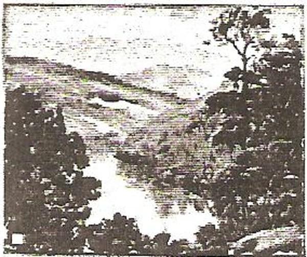 River in Correz