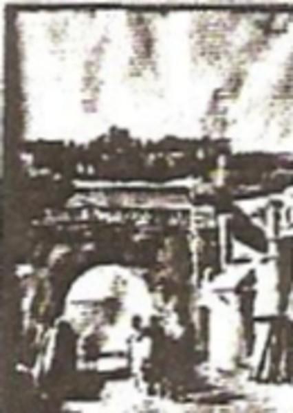 City Entrance at Mecknes