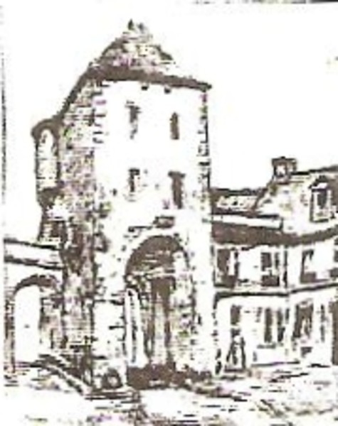 Entrance Tower at Moret