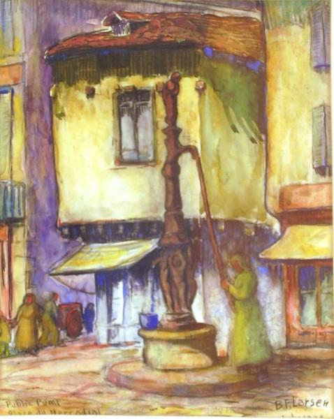 Village Pump Place du Nercadial