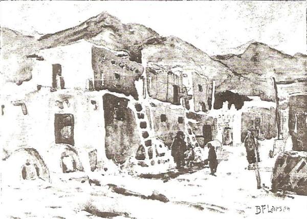 Pueblo in New Mexico