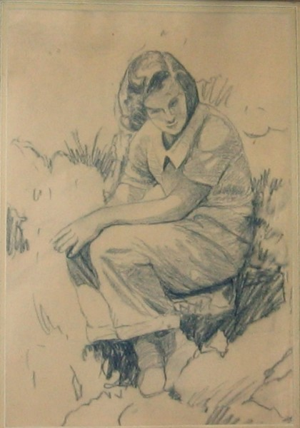 In the Garden (sketch)