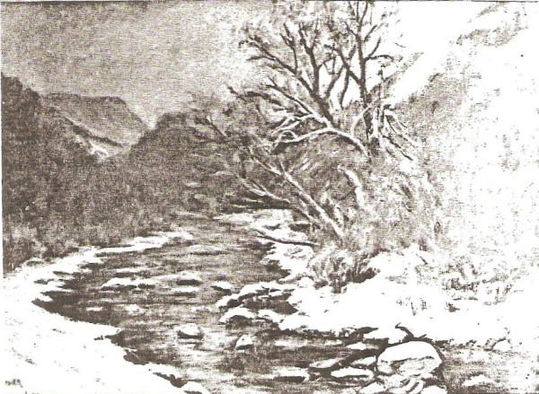 Winter in Provo Canyon