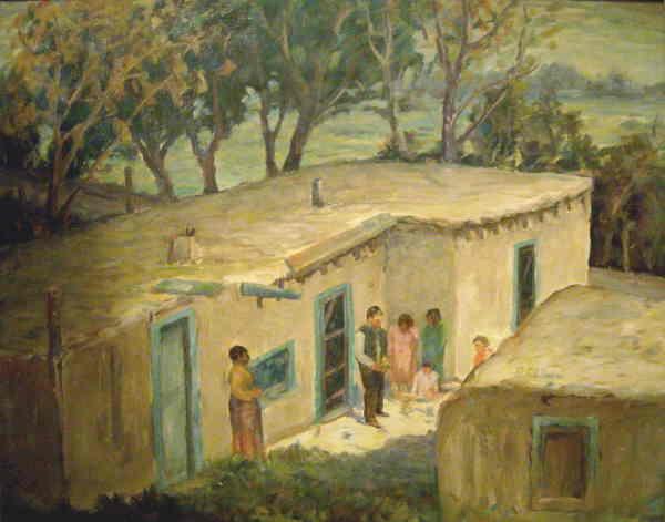 A Spanish American Home
