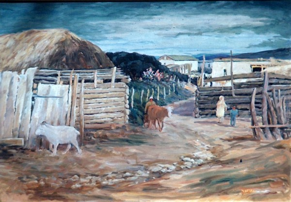 Landscape at Lano Quammado