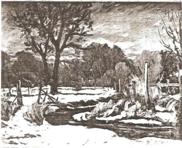 Spring Creek in Winter
