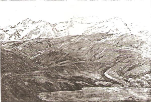 Glimpse of Timpanogos Peaks