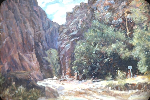 Narrows, Monroe Canyon